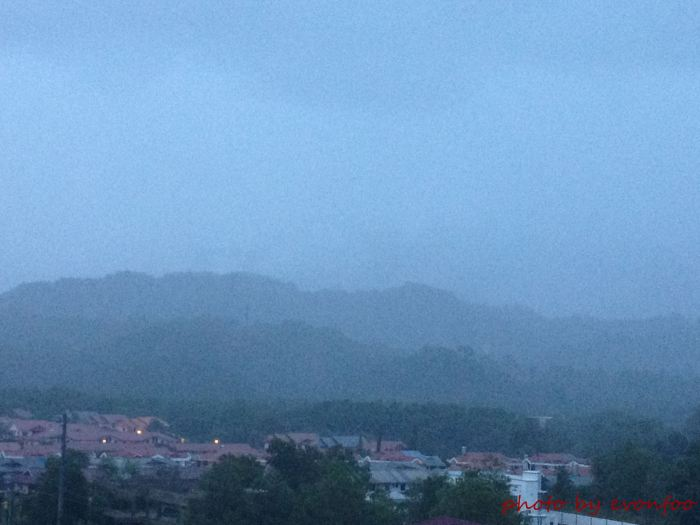 05.09.2014, 6:16am this is how it looks like on a rainy morning... cool and refreshing