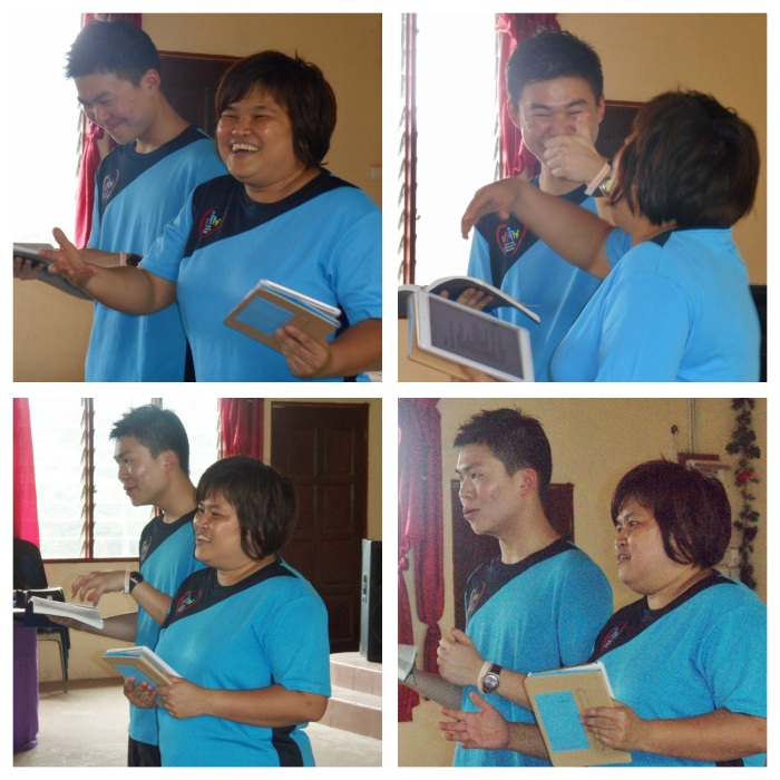 sermon in English by Pr. Sharon Lai and interpreted to Malay by Dr. Michael Teng we could see there truly is joy in serving the Lord!