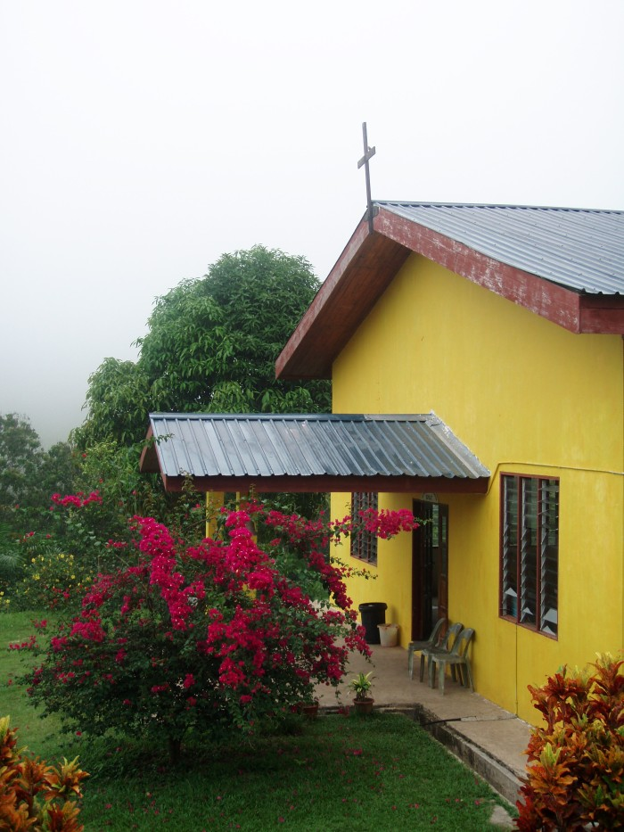 church sanctuary of BCCM Sapulut