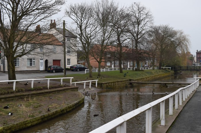 river in the village of Stokesley
