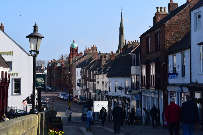 street scene of Durham