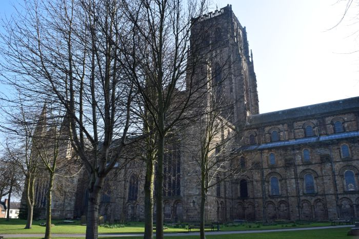 this is a clearer picture of part of Durham Cathedral