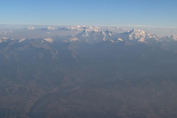 I believe the peak in the distance is Bogda Peak