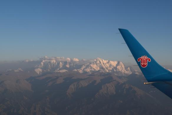 closer view of the highest peak near Ürümqi