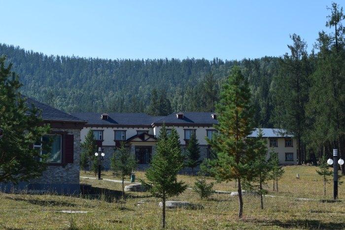 the resort where we stayed the night...