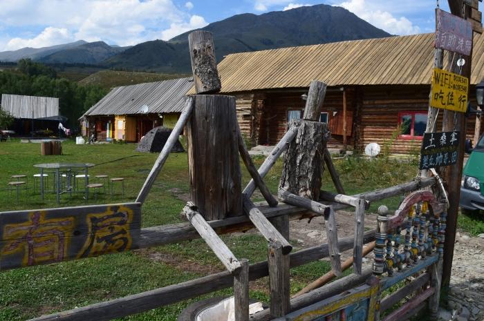 rustic and primitive artwork in Hemu village