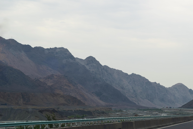 barren mountains