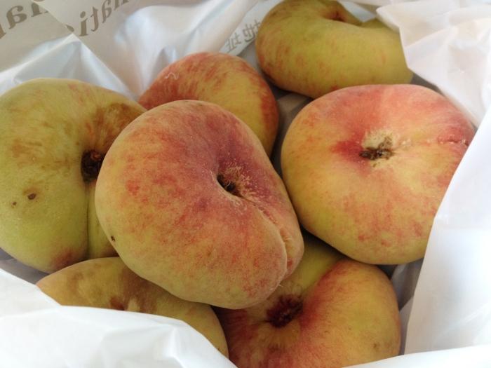 donut peaches 蟠桃
