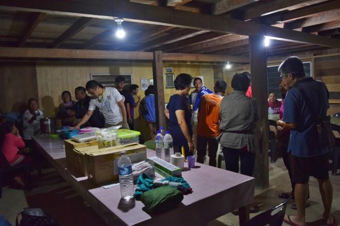 medical mission trip lumampau sipitang sabah