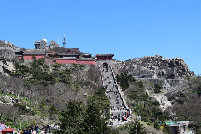 taishan, mount tai shandong china