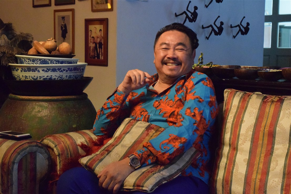 profile of datuk gordon leong, bohemian, boho-chic apartment, interview with datuk gordon leong
