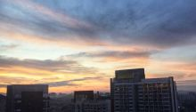 sabahan living in kl, sun rises late in kl, kl cityscape