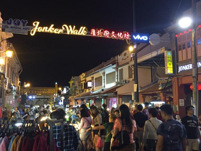 melaka, jonker street