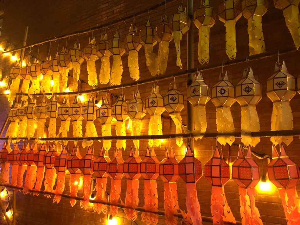 chiang mai lantern festival, chiang mai festival of lights, yee peng festival chiang mai
